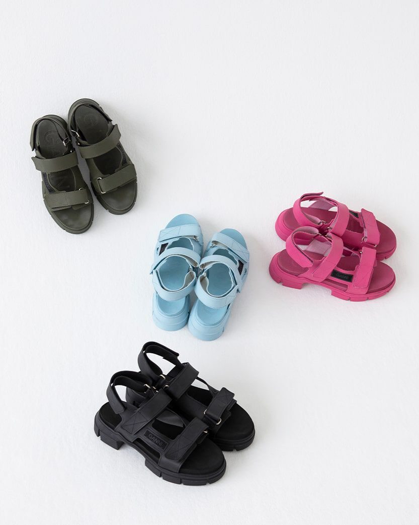 SHOP RECYCLED SANDALS