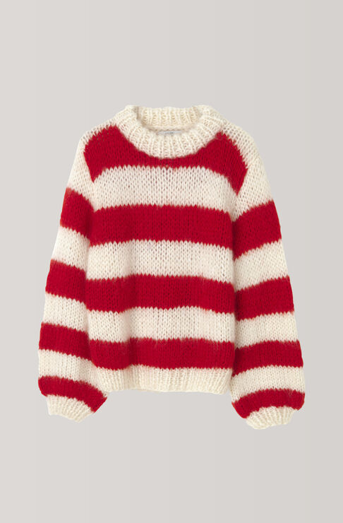 The Julliard Mohair Pullover, Egret, hi-res