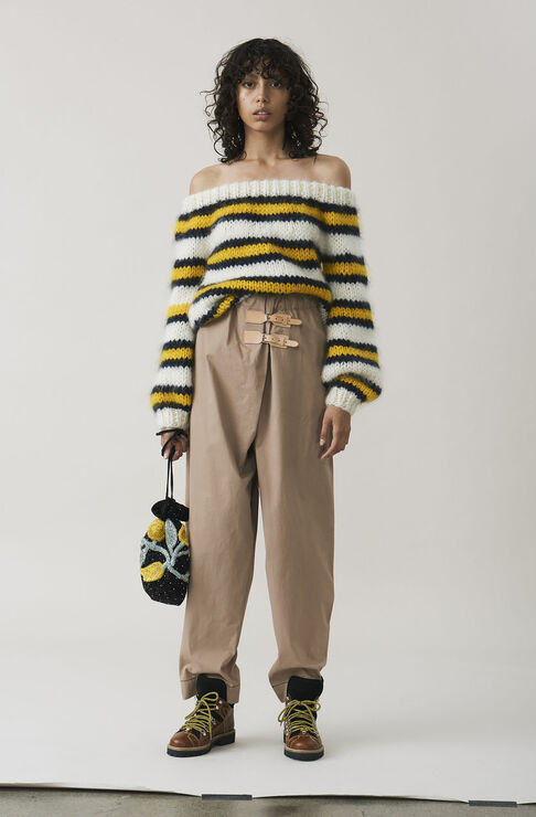 Phillips Cotton Pants, Chanterelle, hi-res