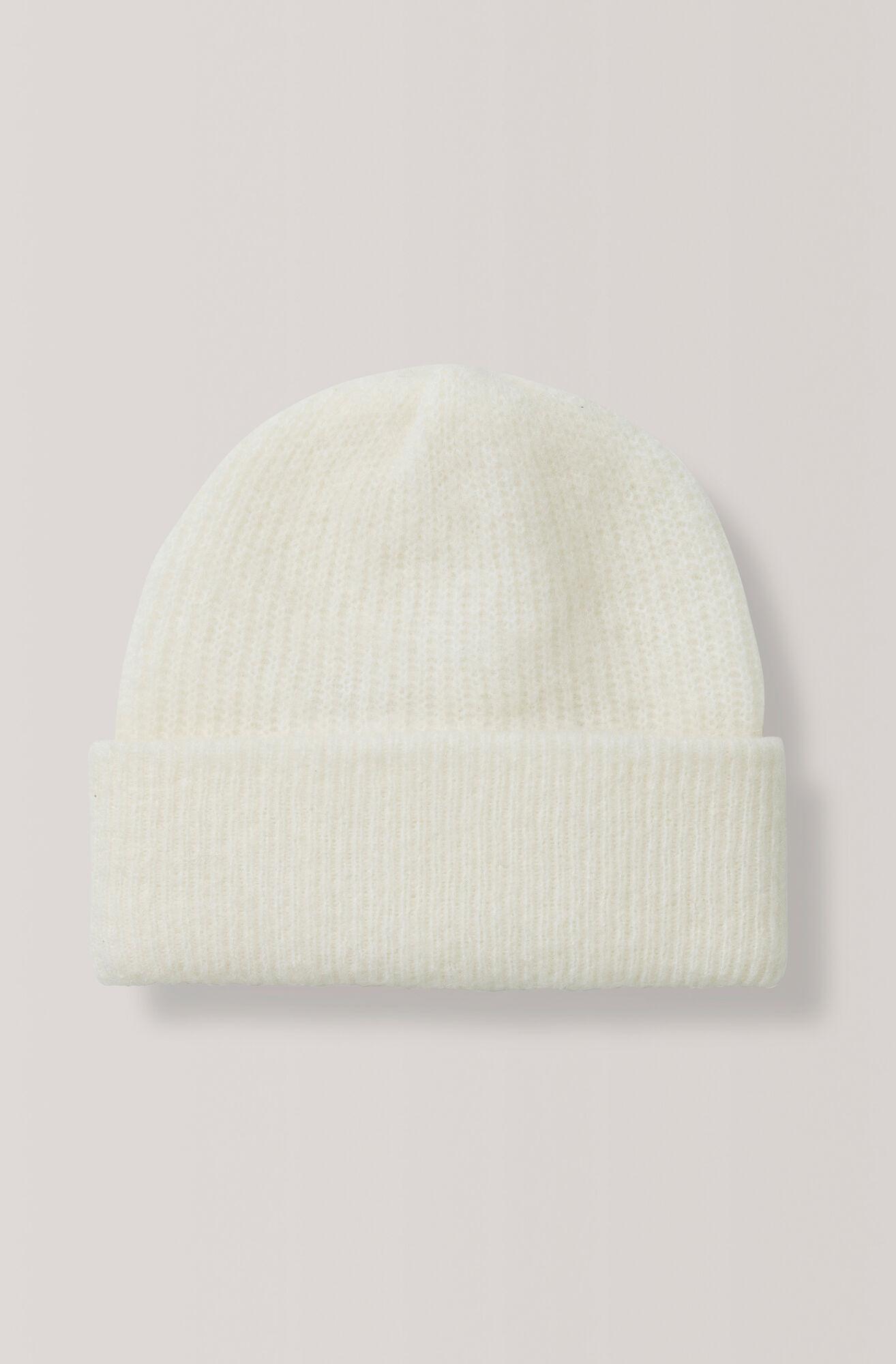 Knit Hatt, Egret, hi-res