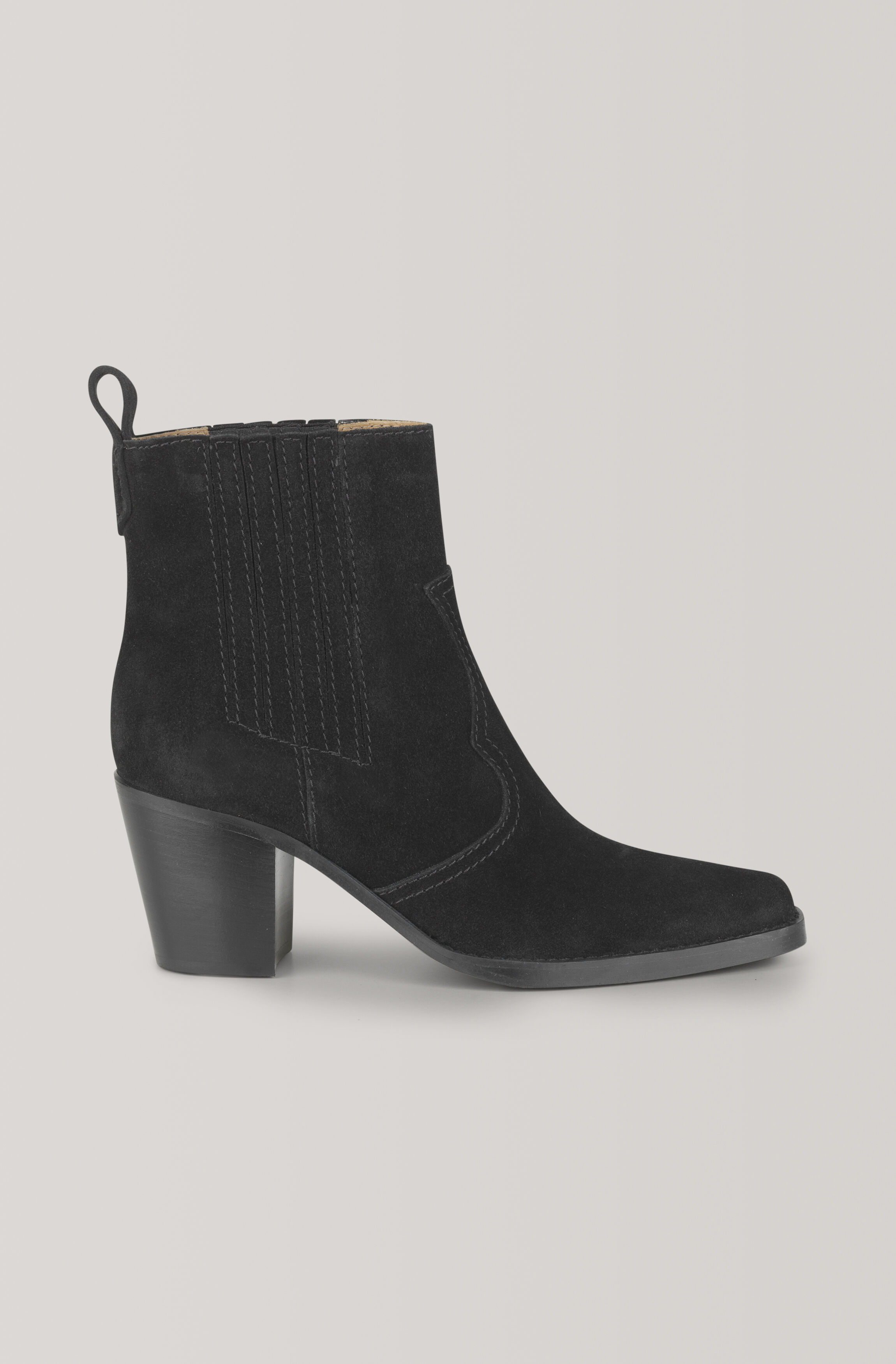GANNI Western Ankle Boots ( 2999.00 DKK