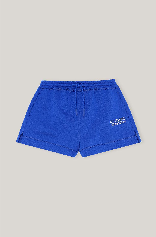 가니 GANNI Software Drawstring Isoli Shorts,Daphne