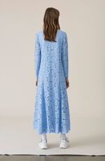 Jerome Lace Maxi Dress, Serenity Blue, hi-res
