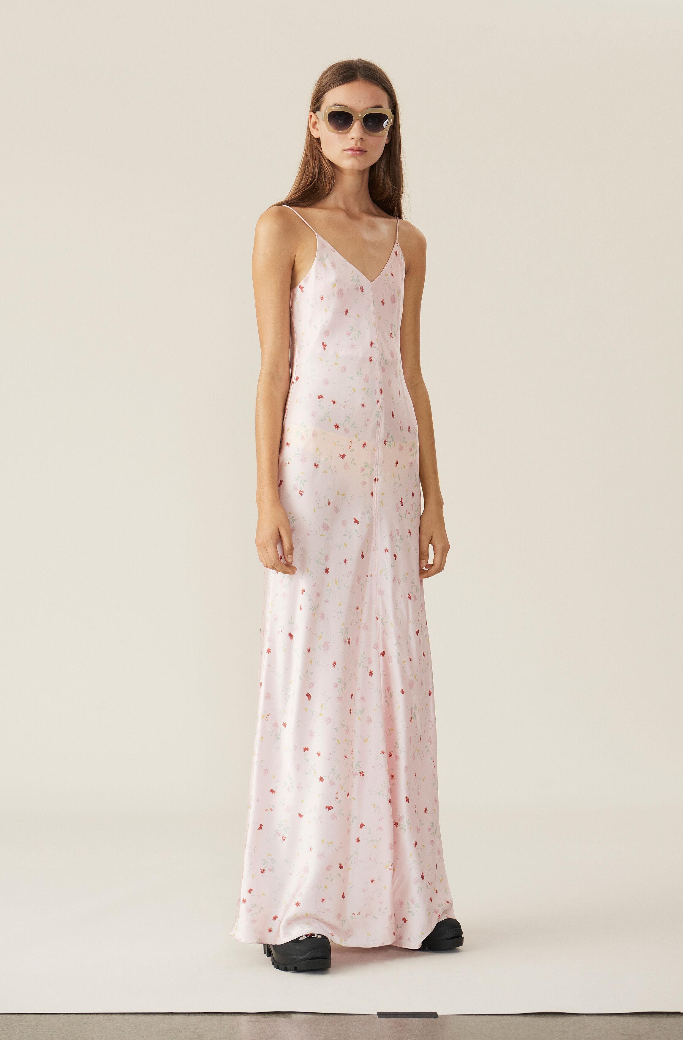 Shop Stretch Silk 00 Dress Slip Ganni 475 Usd Your Satin us z1RwSWx5q7