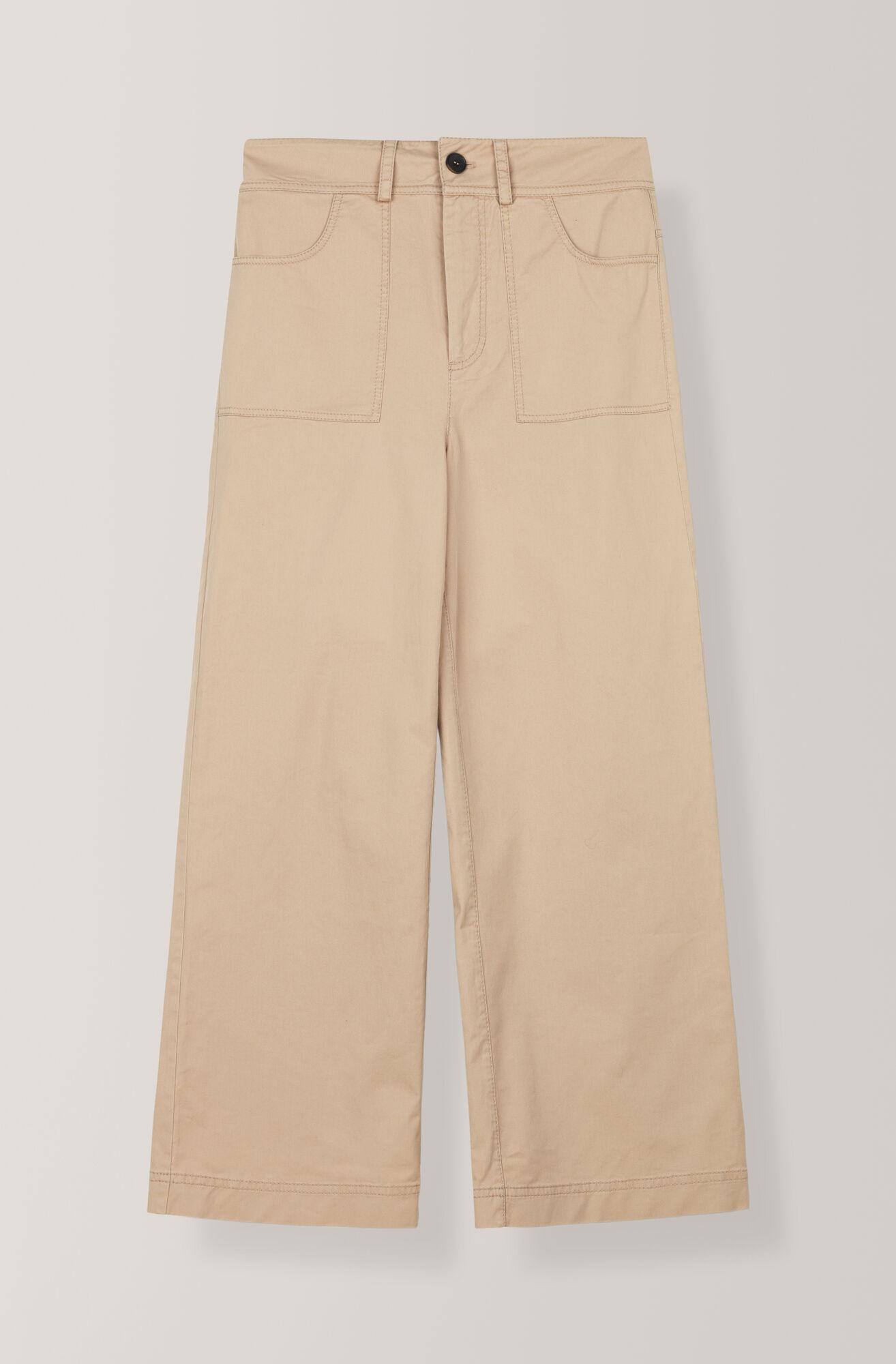 Stretch Chino Pants, Cuban Sand, hi-res