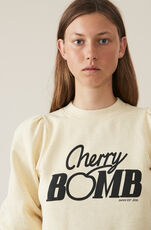 Lott Isoli Sweatshirt, Cherry Bomb, Anise Flower, hi-res