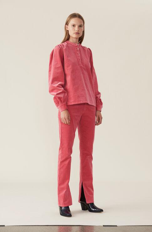 Kordsamthose, Hot Pink, hi-res