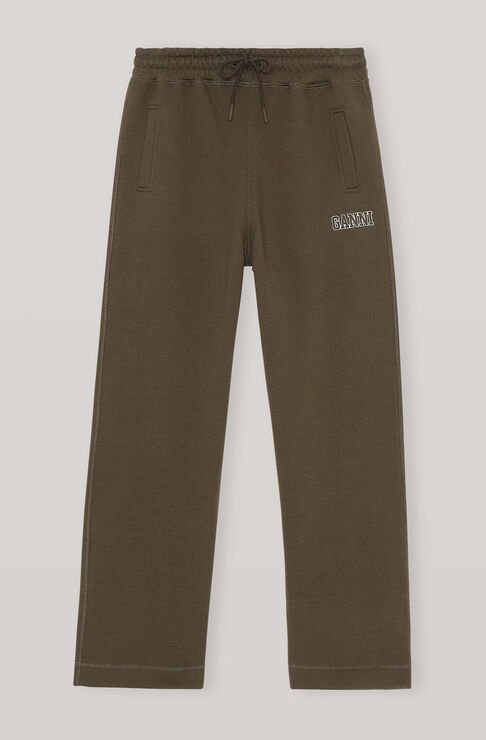 Ganni SOFTWARE ISOLI STRAIGHT LEG PANTS