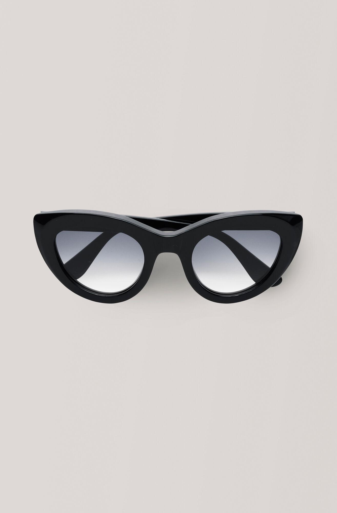 Triangle Sunglasses Sonnenbrille, Black, hi-res