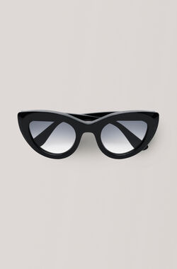 Triangle Sunglasses Sunglasses, Black, hi-res