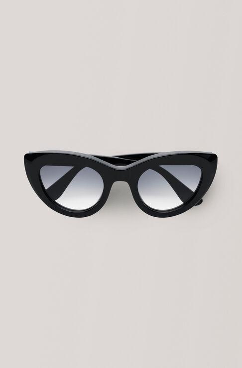 Triangle Sunglasses Solbriller, Black, hi-res
