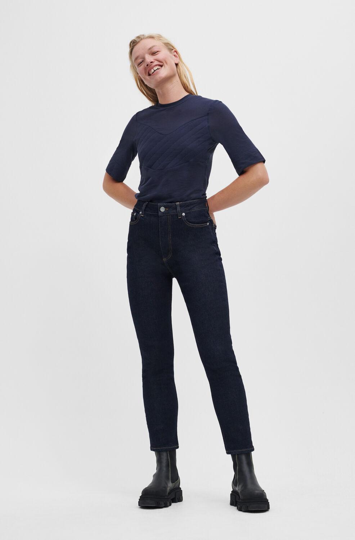 가니 블랙진 Ganni Cutye Jeans,Indigo