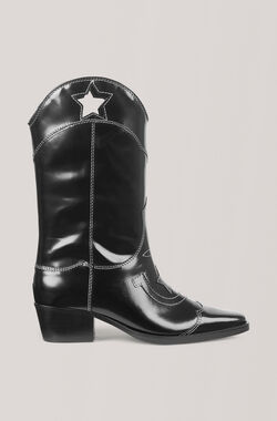 High Texas Stiefel, Black, hi-res