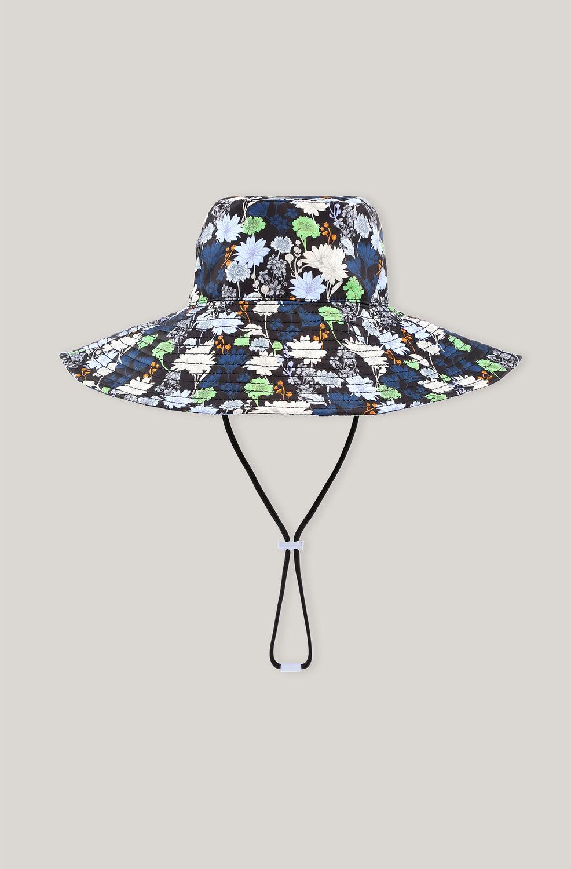 가니 버킷 햇 Ganni Recycled Polyester Bucket Hat,Multicolour