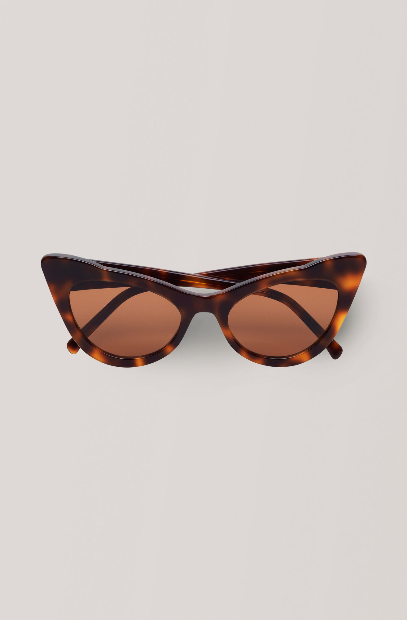 Cat-Eye Sunglasses Solbriller, Tortoise, hi-res