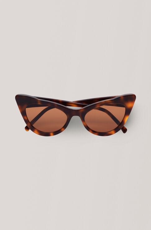 Cat-Eye Sunglasses Solbriller, Tortoise, hi-res