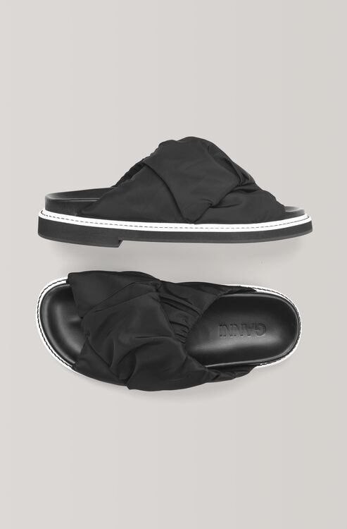 2a981065e44b Fabric Wrap Sandals