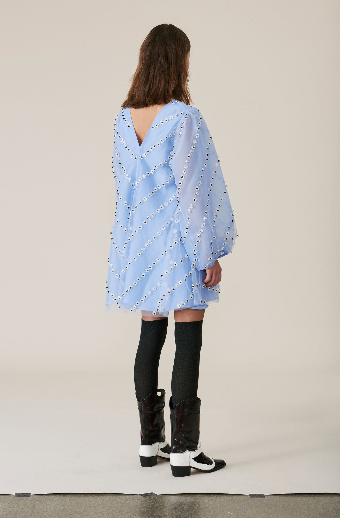 Rosenfeld Mini Dress, Serenity Blue, hi-res