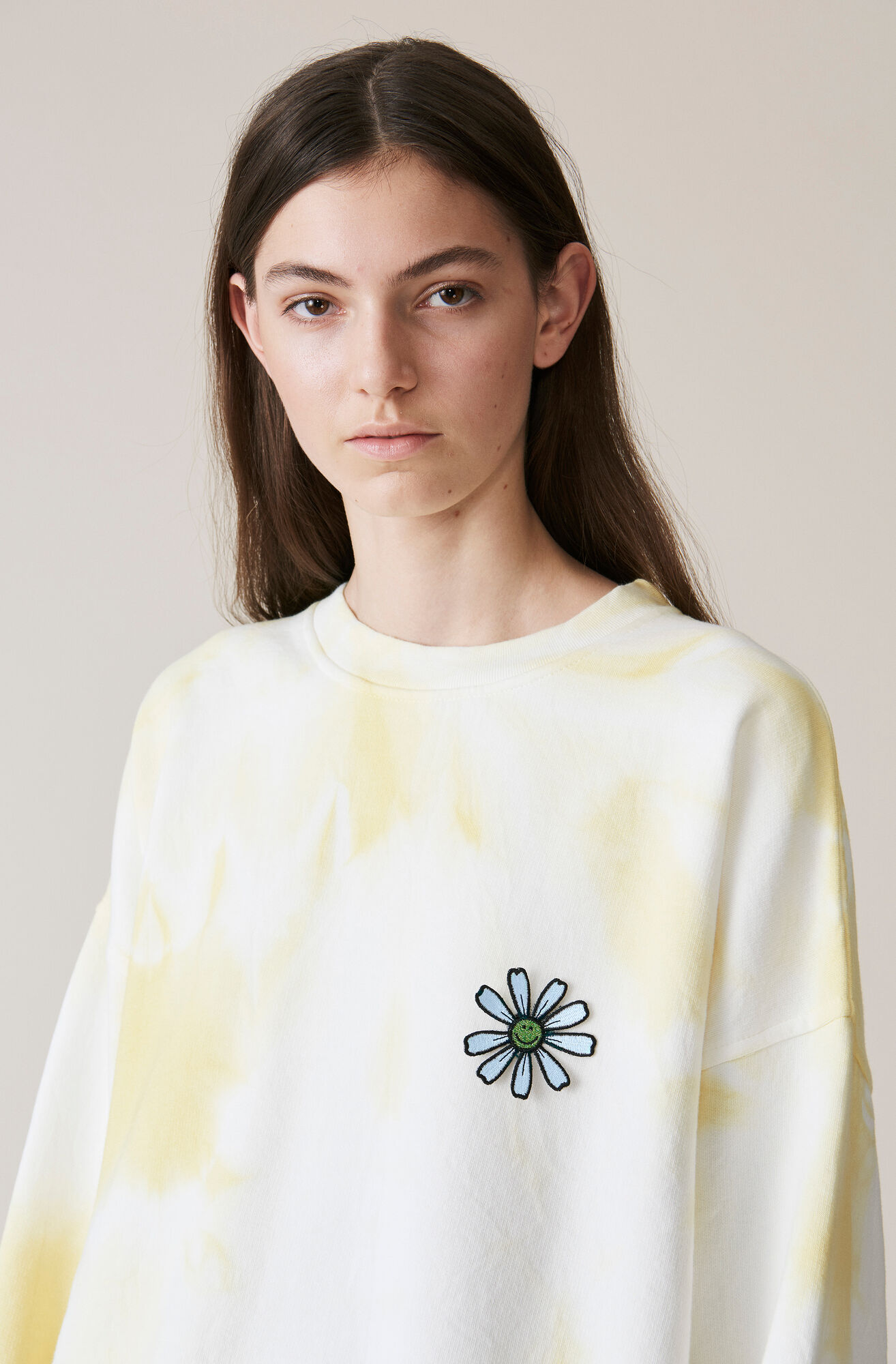Stonecrop Isoli Sweatshirt, Daisy, Anise Flower, hi-res