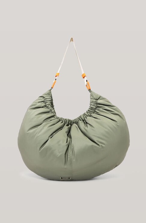 Ganni SEASONAL RECYCLED TECH XXL HOBO