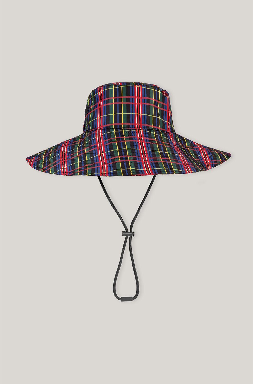 가니 버킷 햇 Ganni Recycled Polyester Bucket Hat,Black
