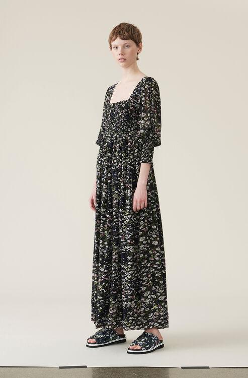 afd0e3ad8707 Printed Georgette Maxi Dress