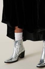Silk Velvet Omlottklänning, Black, hi-res