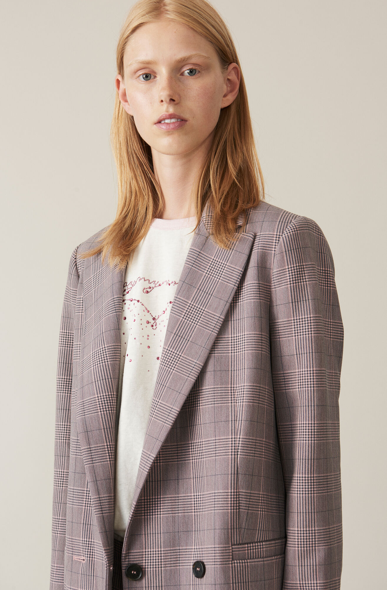 Suiting Blazer, Silver Pink, hi-res