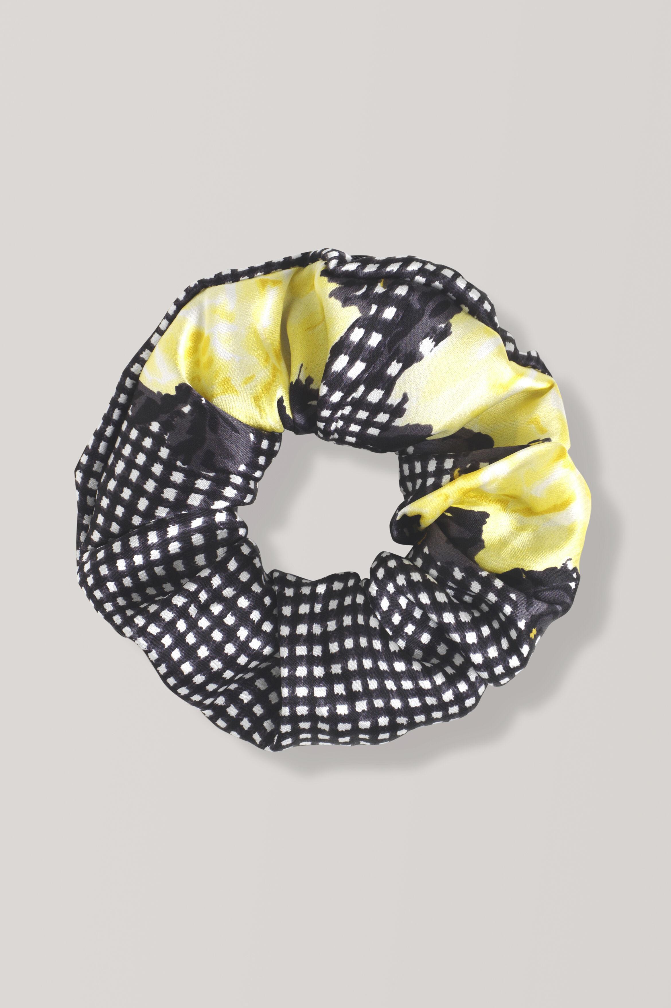 Ganni Calla Silk Scrunchie 4DX1R1uSN8