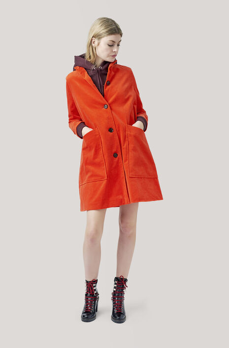 Ridgewood Coat, Big Apple Red, hi-res