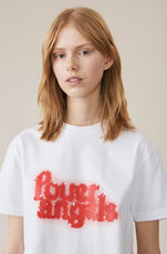 Heavy Cotton Jersey T-shirt, Power Angels, Bright White, hi-res