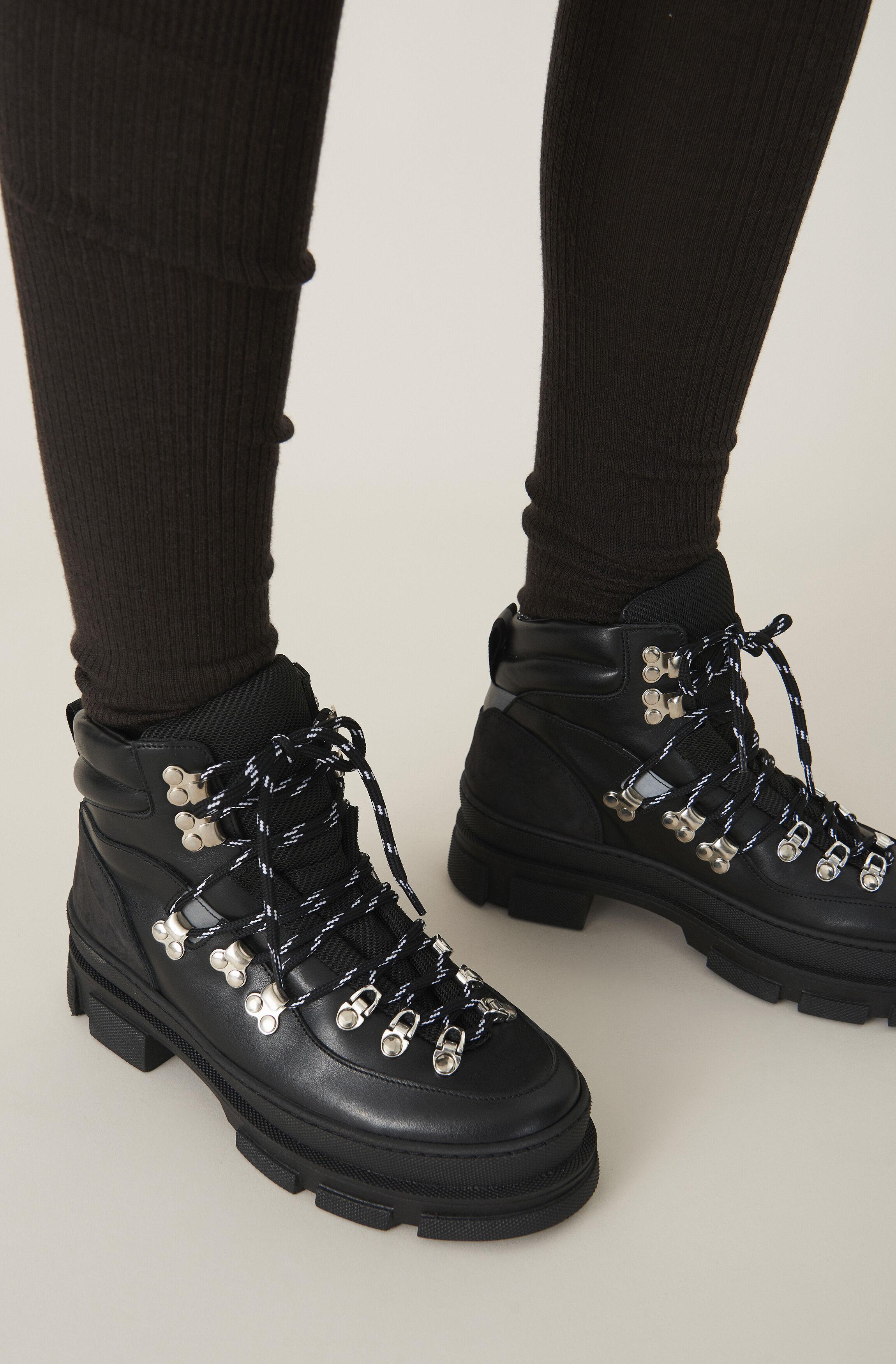 GANNI Sporty Hiking Boots ( 0.0 N/A