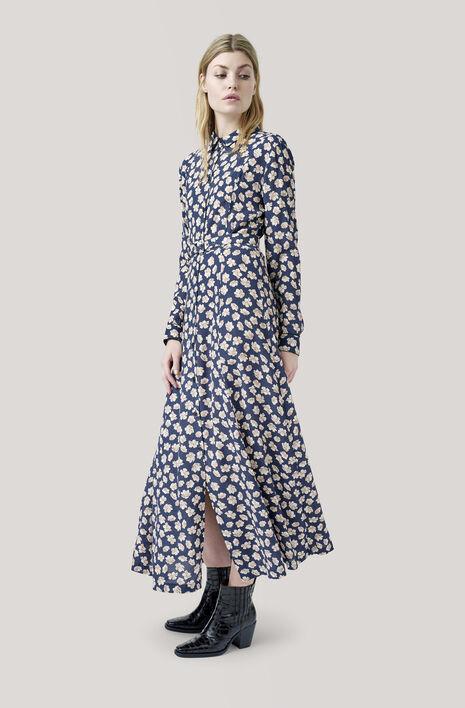 Montrose Crepe Maxi Dress, Total Eclipse, hi-res