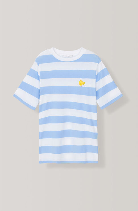 Everman T-shirt, Banana, Serenity Blue, hi-res
