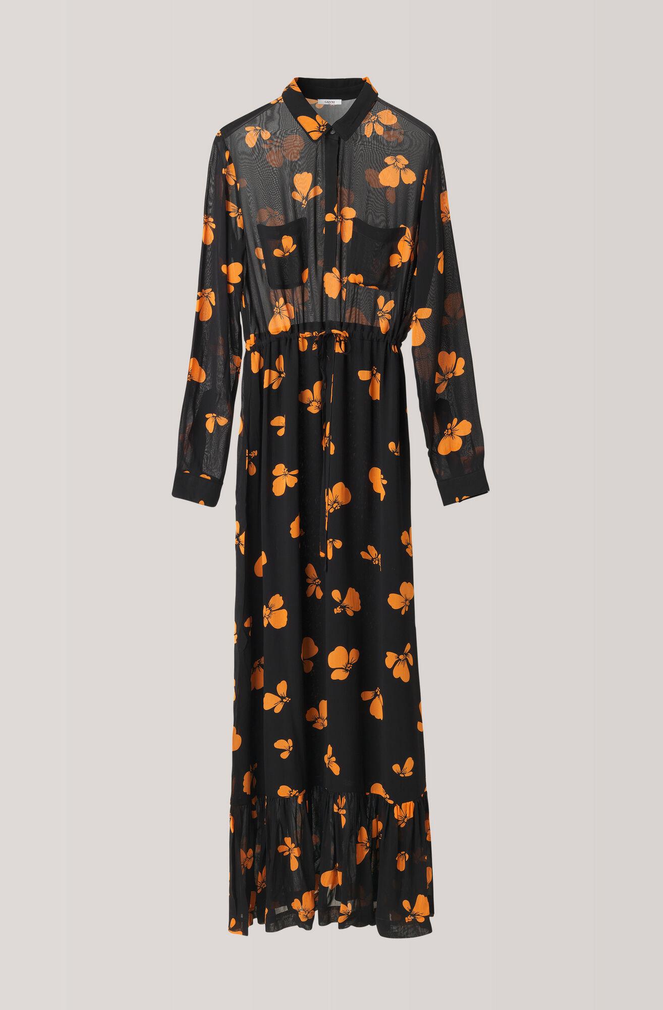 1dcf6411c7f fairfax-georgette-maxi-dress by ganni