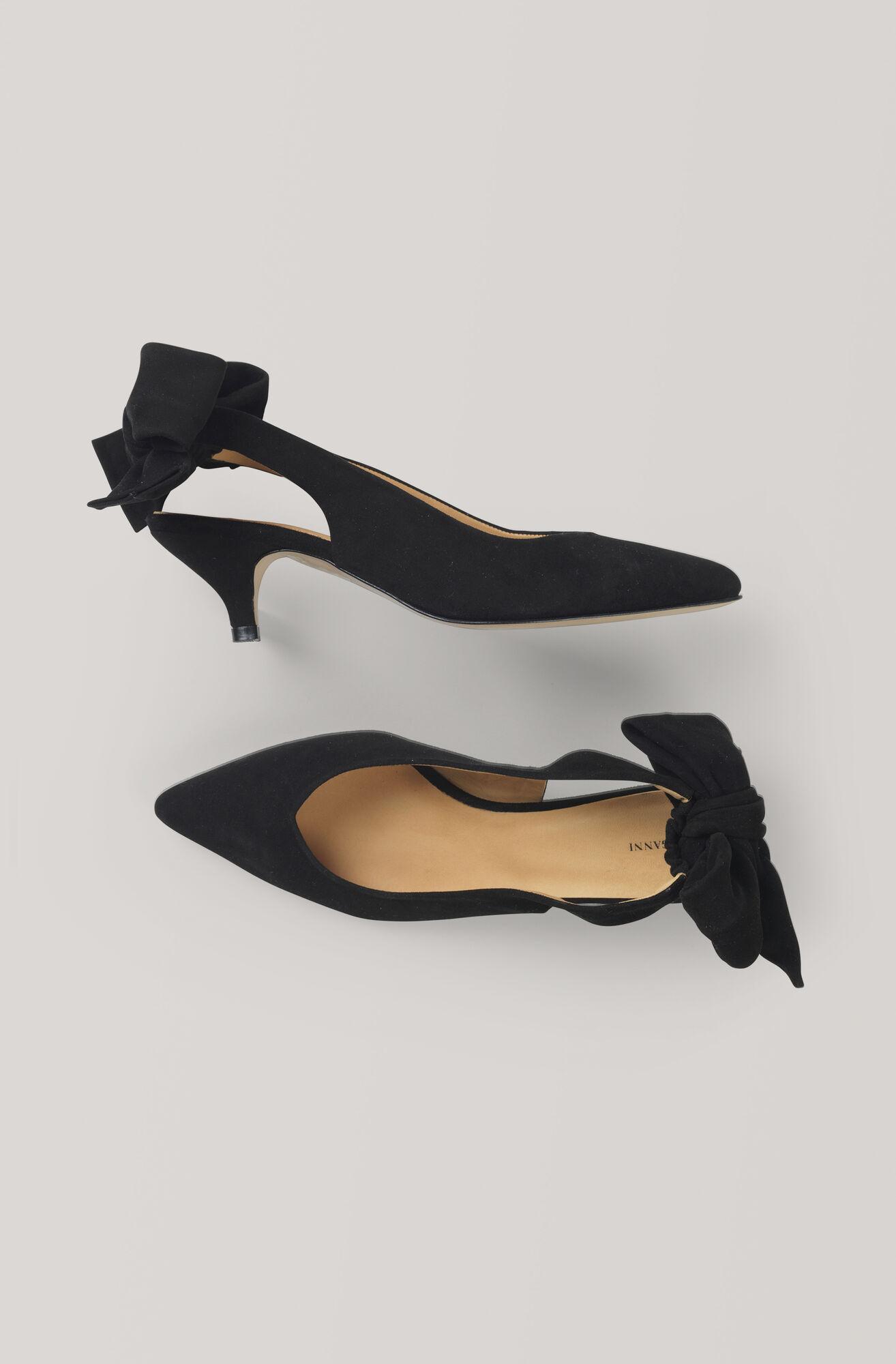 d5fe680055b8 GANNI Bow Kitten Heel Pumps ( 210.00 GBP )