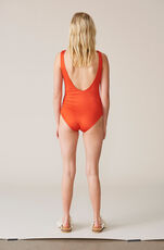 Profilic Swimwear Swimsuit, Bee Happy, Big Apple Red, hi-res