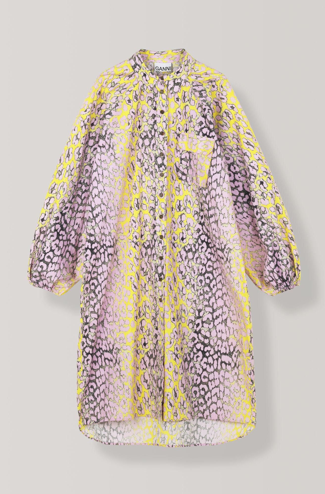 d91c09b90a16 GANNI Printed Cotton Poplin Shirt Dress ( 200.00 GBP ) | Shop your ...