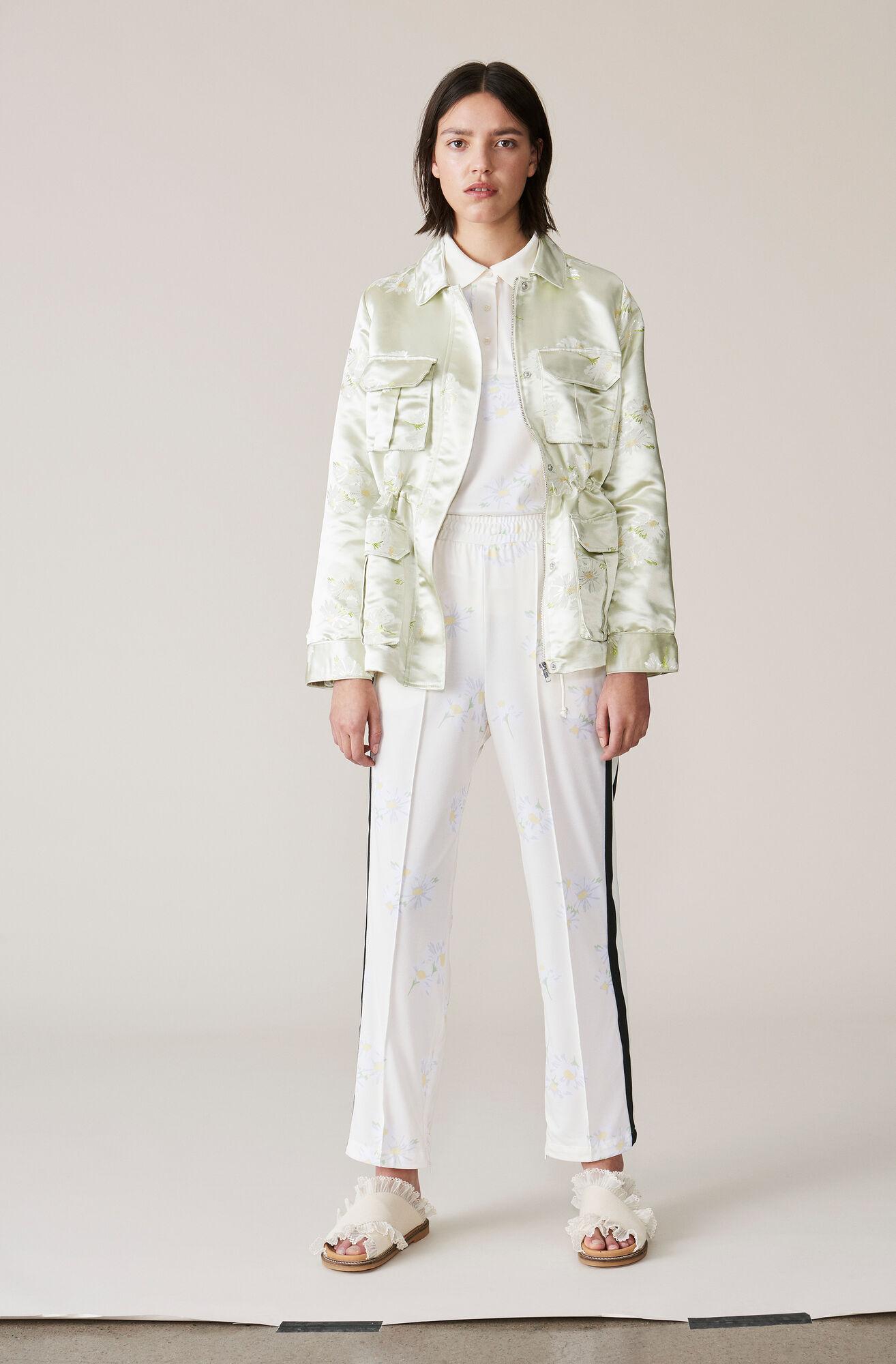 Dubois Polo Printed Pants, Egret, hi-res
