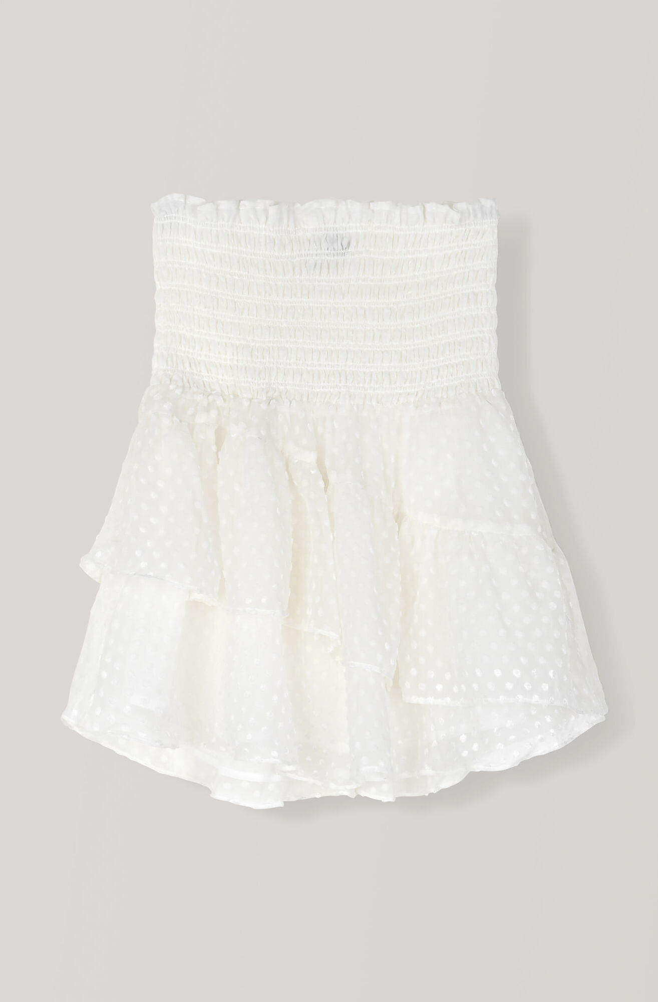Jasmine Skirt, Egret, hi-res