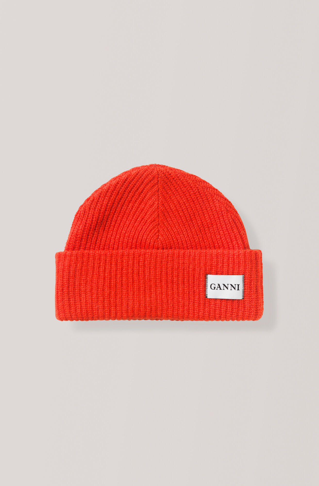 Knit Hat, Fiery Red, hi-res