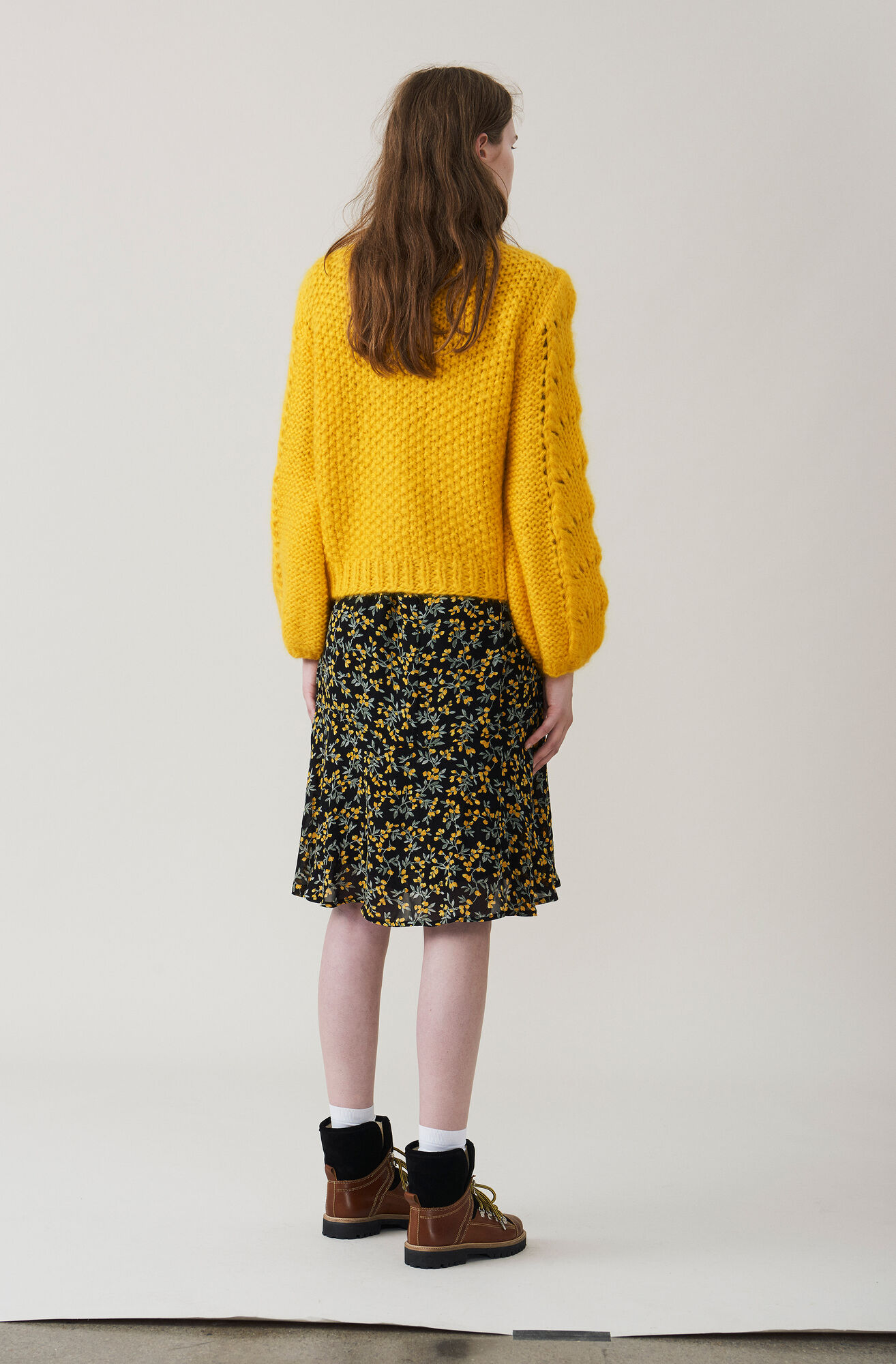 The Julliard Mohair Pullover, Lemon, hi-res