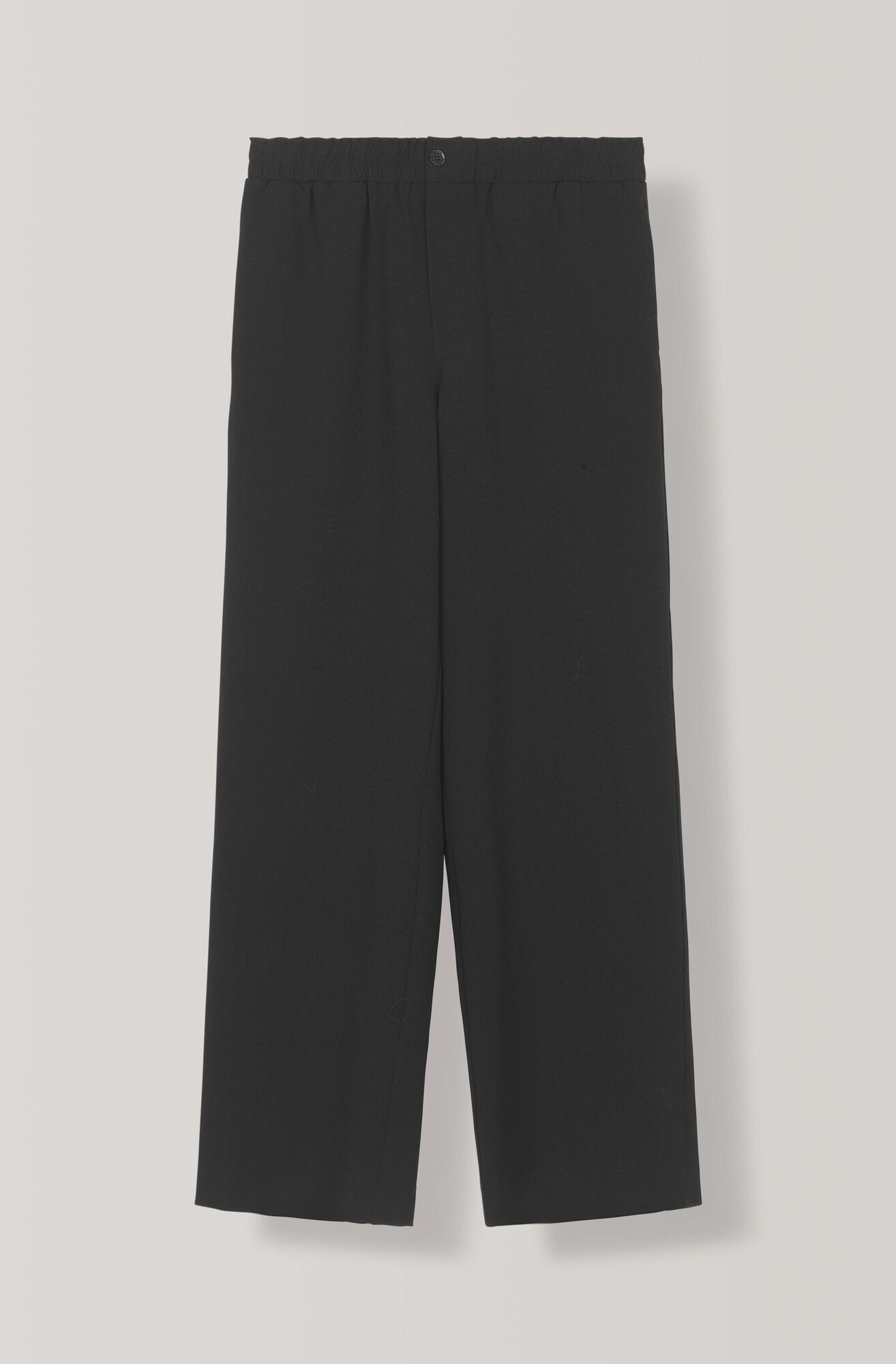 Heavy Crepe Pants, Black, hi-res