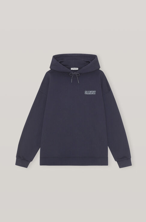 Ganni SOFTWARE ISOLI OVERSIZED HOODIE