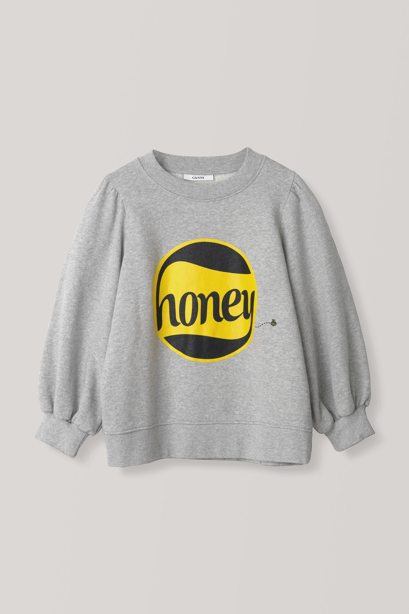 Lott Isoli Puff Sweatshirt, Honey, Paloma Melange, hi-res
