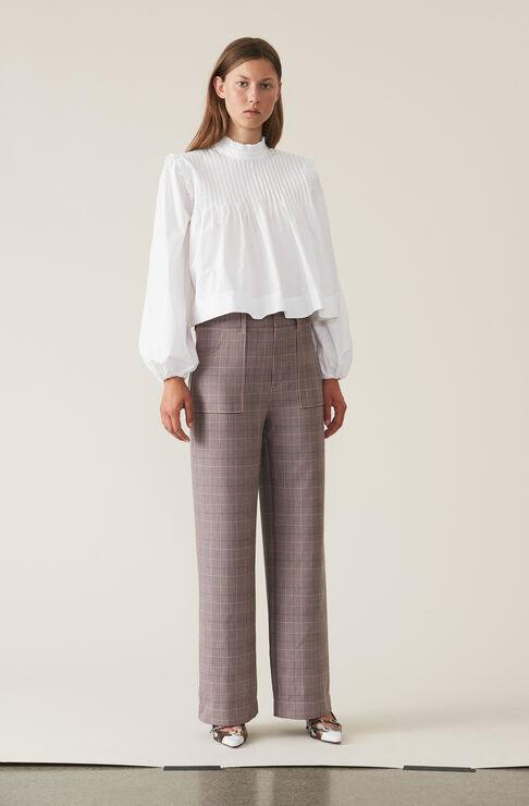 Suiting Bukser, Silver Pink, hi-res