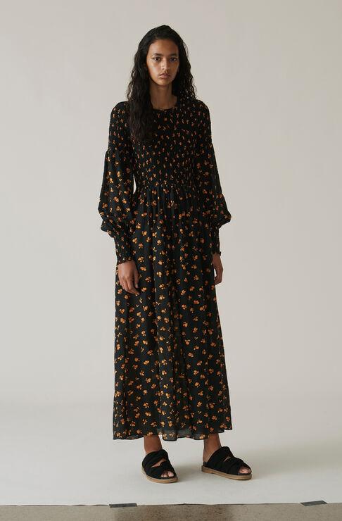 Beacon Maxi Dress, Black, hi-res