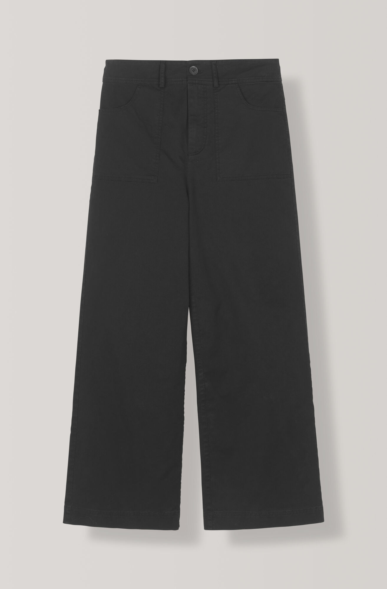 Stretch Chino Pants, Black, hi-res