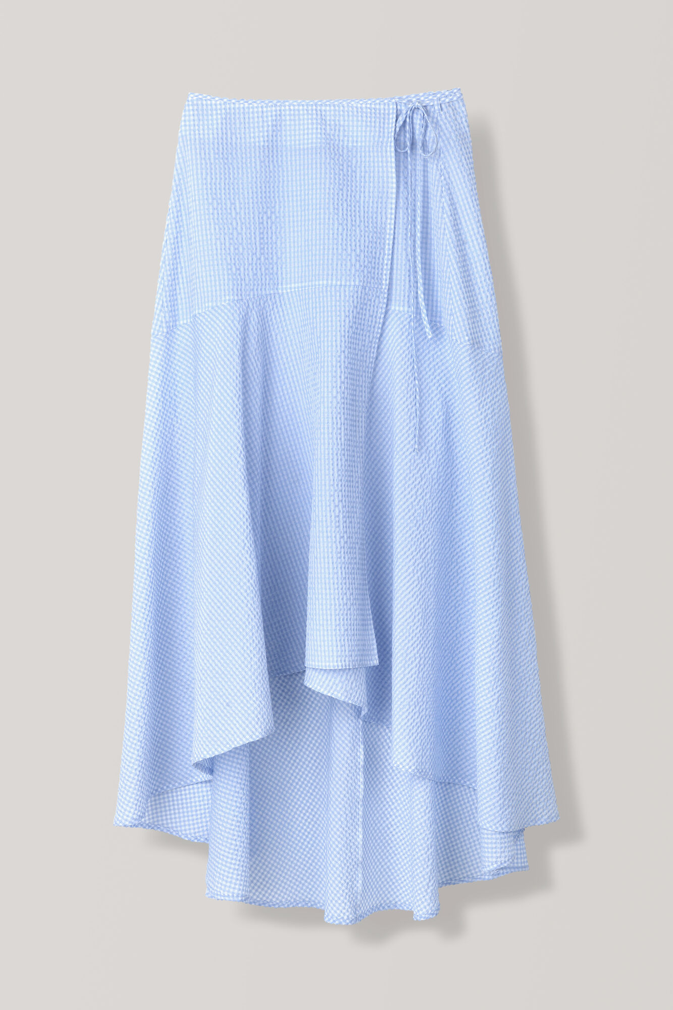 Charron Wrap Skirt, Serenity Blue, hi-res
