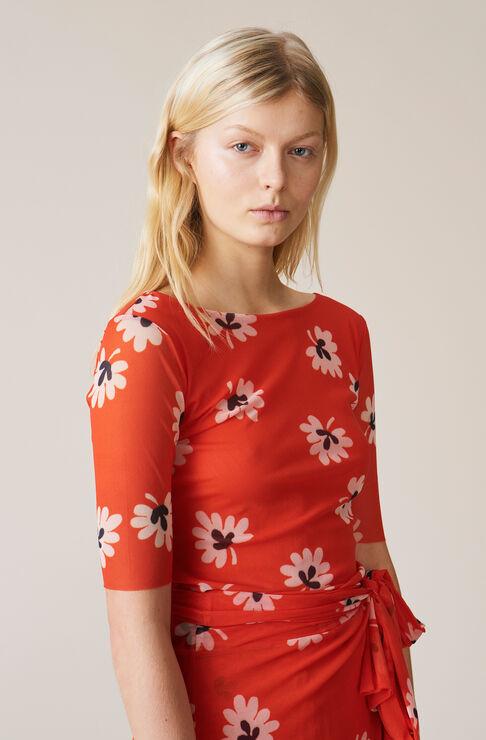 Tilden Mesh T-shirt, Big Apple Red, hi-res